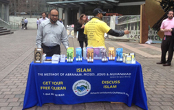 AMERICAN ISLAMIC OUTREACH -DAWAH BOOTHS